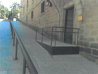 Acceso Oficina de turismo