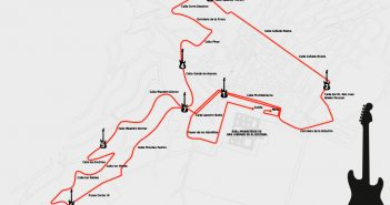 Recorrido carrera rock