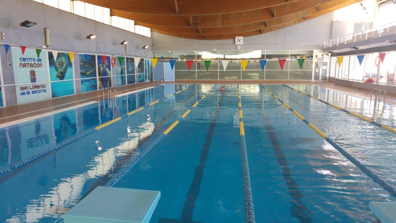 Detalle de las mejoras en el polideportivo municipal con for Piscina cubierta illescas