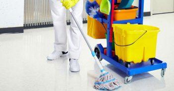 Auxiliar de limpieza de instalaciones