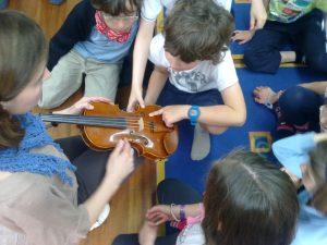 Taller de violín