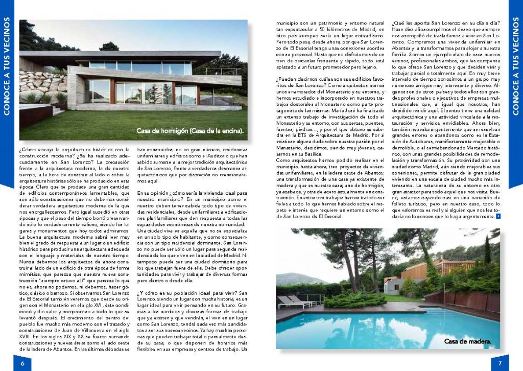 Entrevista a Aranguren y Gallegos
