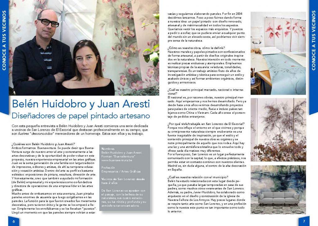 Entrevista a Belén Huidobro y Juan Aresti - Abril 2017