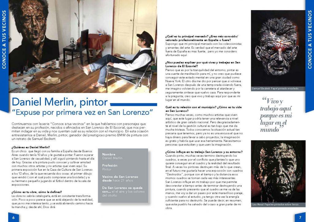 Entrevista a Daniel Merlin