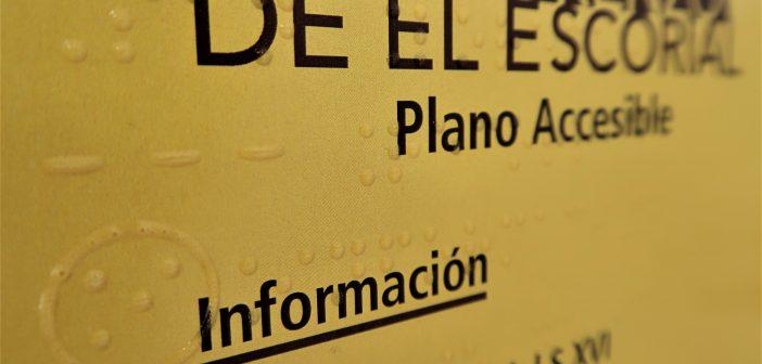 Plano accesible San Lorenzo de El Escorial