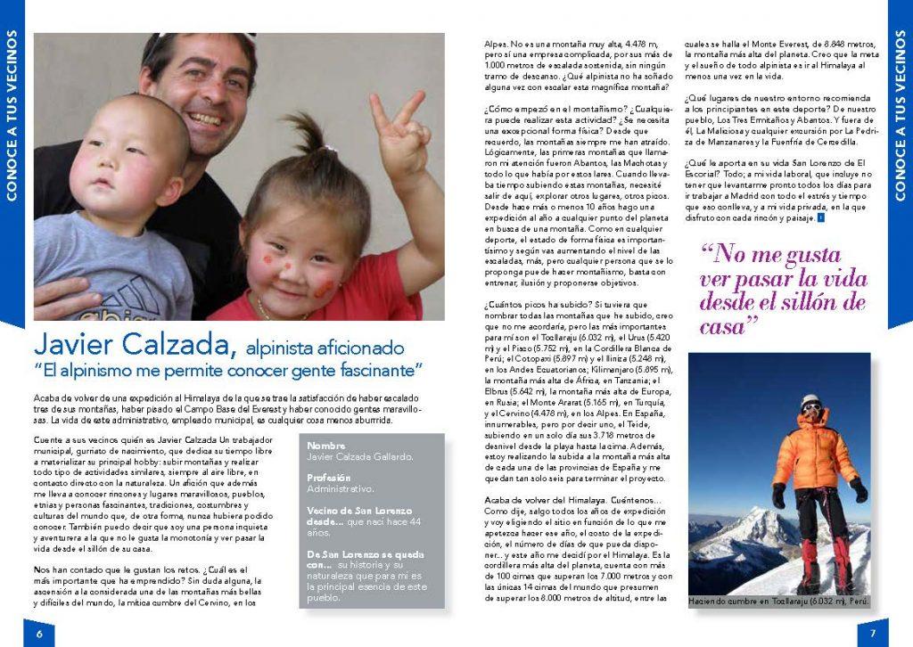 Entrevista a Javier Calzada