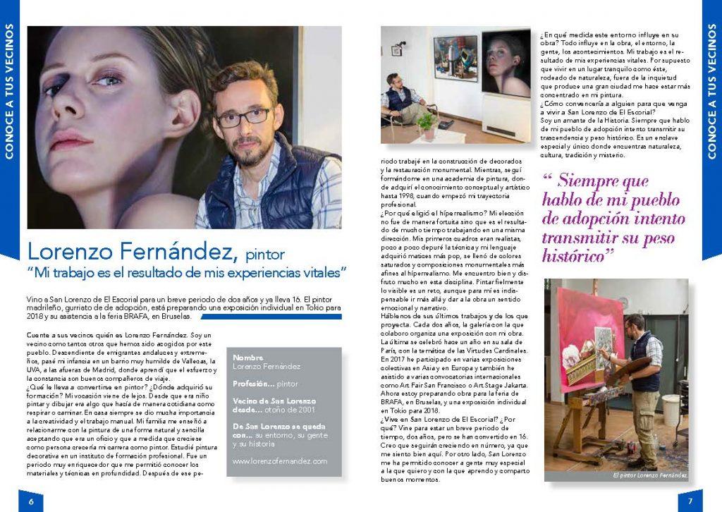 Entrevista a Lorenzo Fernández