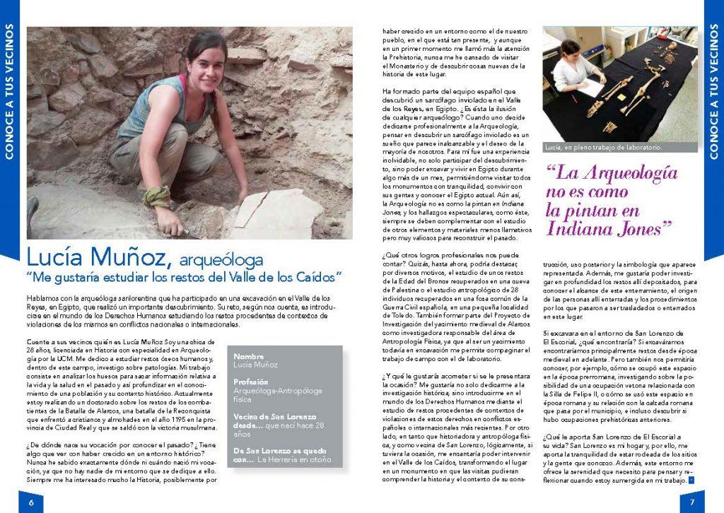 Entrevista a Lucía Muñoz