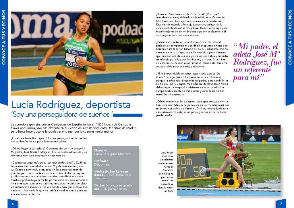 Entrevista a Lucía Rodríguez