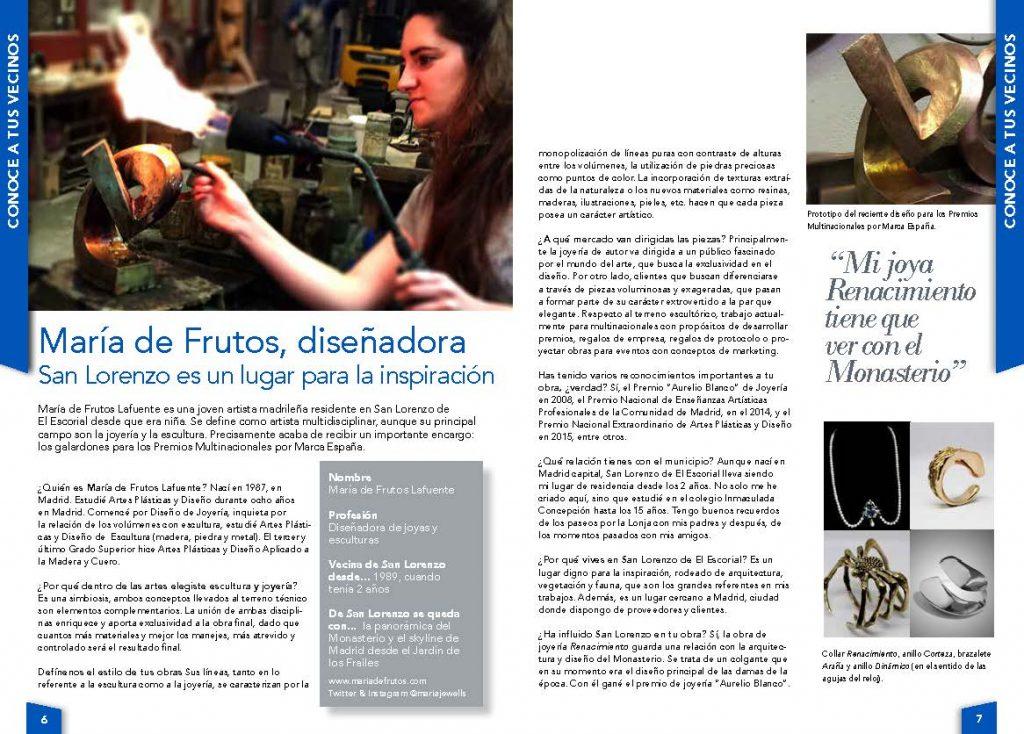 Entrevista a María de Frutos