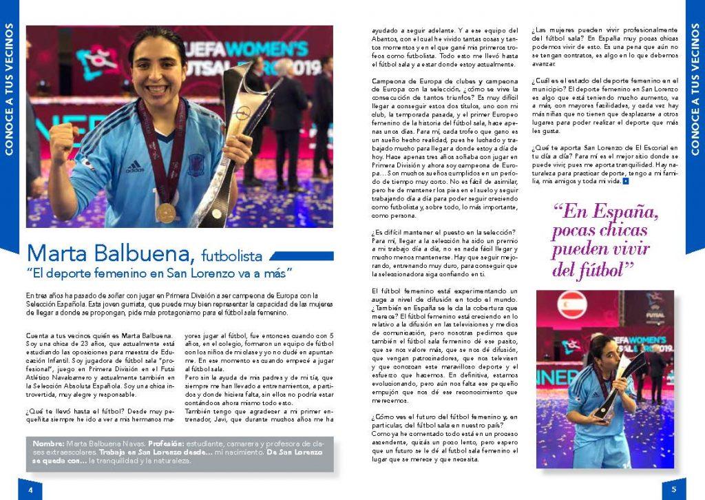 Entrevista a Marta Balbuena