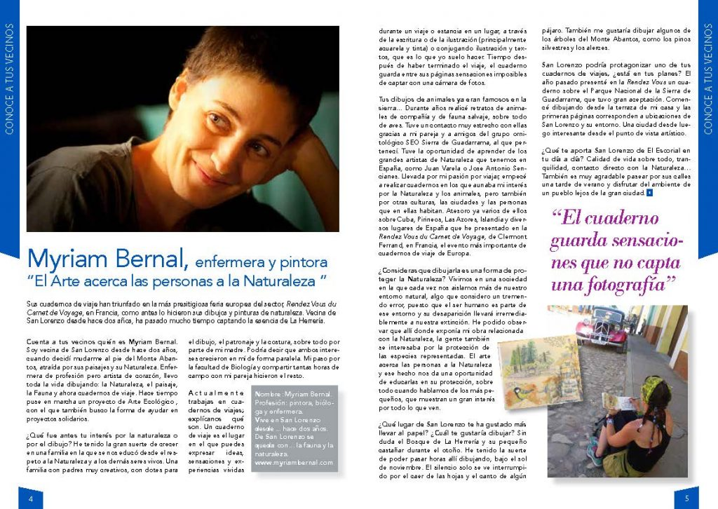 Entrevista a Myriam Bernal