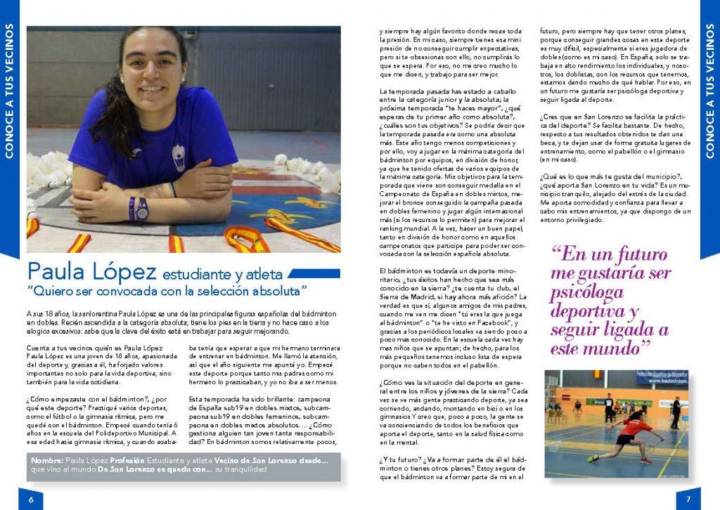 Entrevista a Paula López