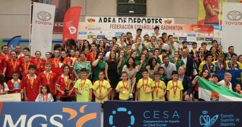 Final Campeontato España Bádminton