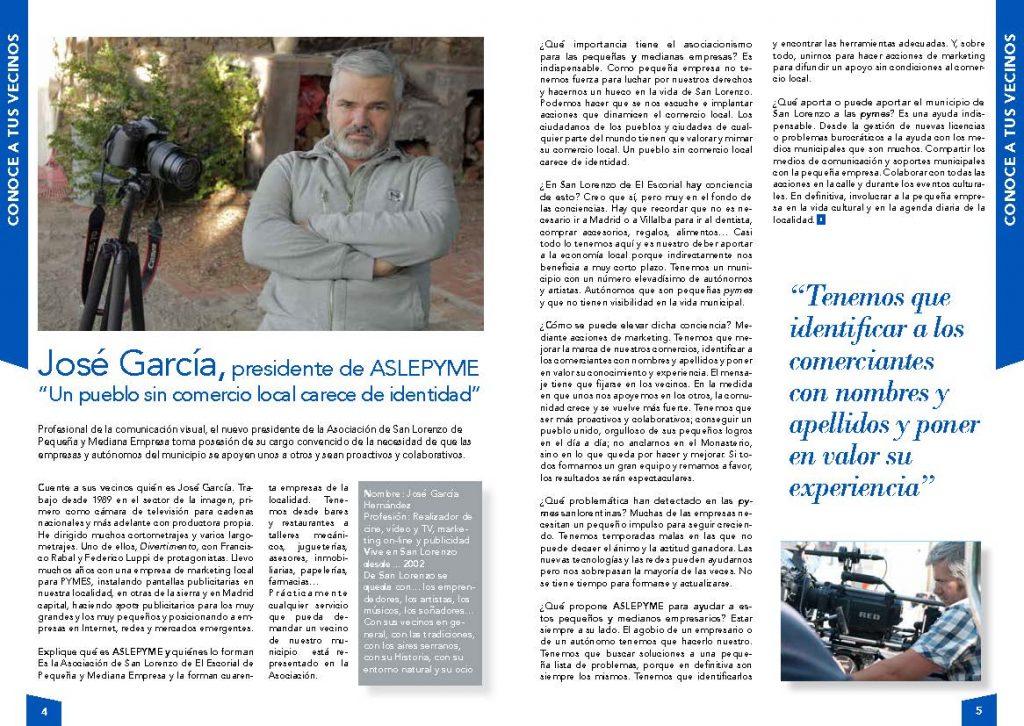 Entrevista a José García Hernández - Junio 2019