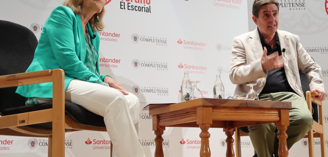 Inauguración Cursos de Verano-Carmen Riera y Luis G Montero (2)