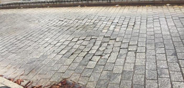 Situación en la que se encontraba la Plaza de la Virgen de Gracia