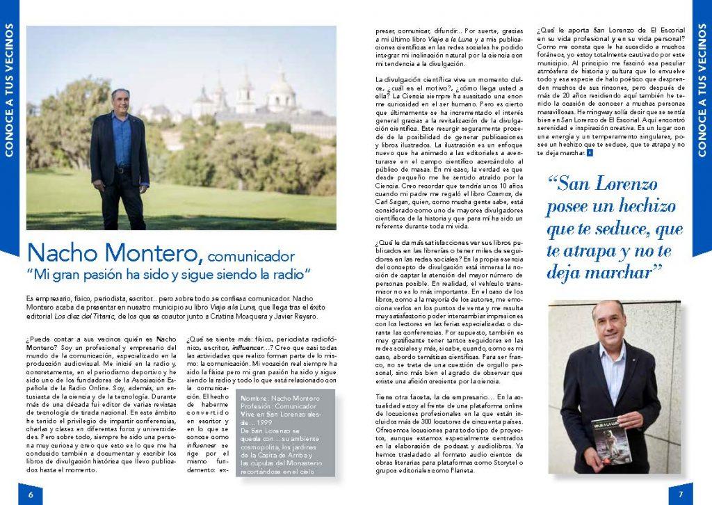 Entrevista a Nacho Montero