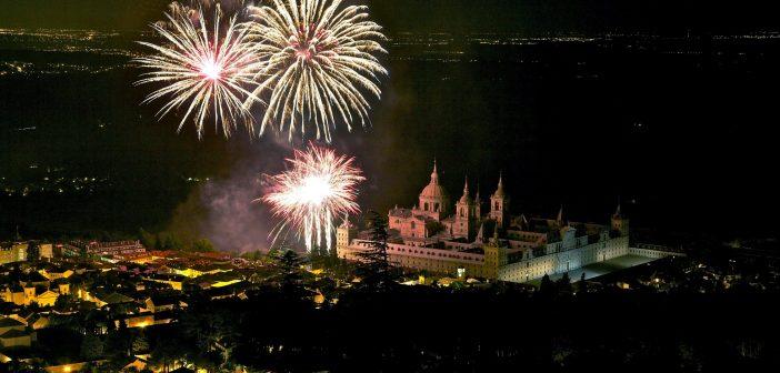 Fuegos artificiales San Lorenzo de El Escorial