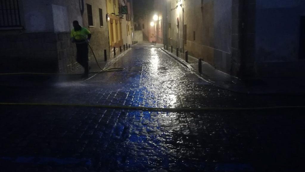 Limpieza Jornada 45 - Calle Cervantes