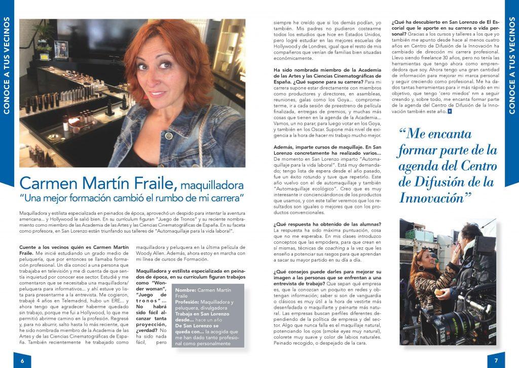 Entrevista a Carmen Martín Fraile
