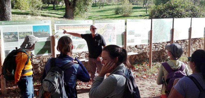 Charla Fuente del Seminario en ECOfinde San Lorenzo de El Escorial