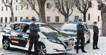Guardia Civil en San Lorenzo de El Escorial