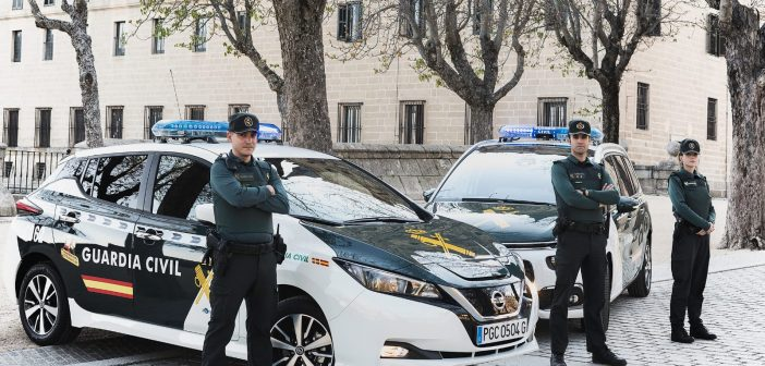 Guardia Civil en San Lorenzo de El Escorial