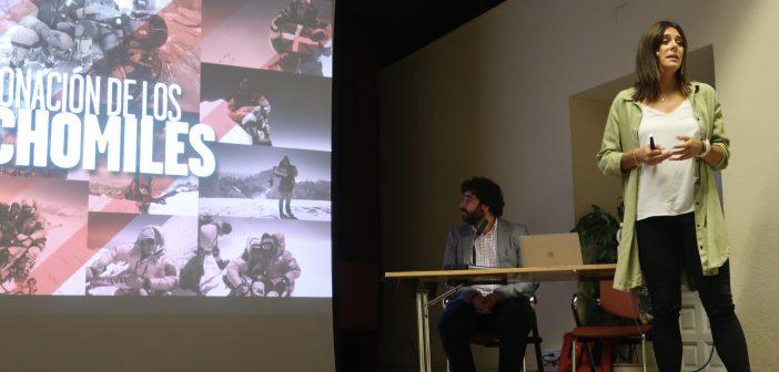 Conferencia Edurne Pasabán en ECOfinde San Lorenzo de El Escorial