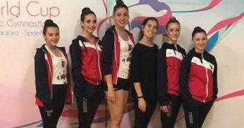 Equipo Juvenil Gimnasia Rítmica de San Lorenzo de El Escorial