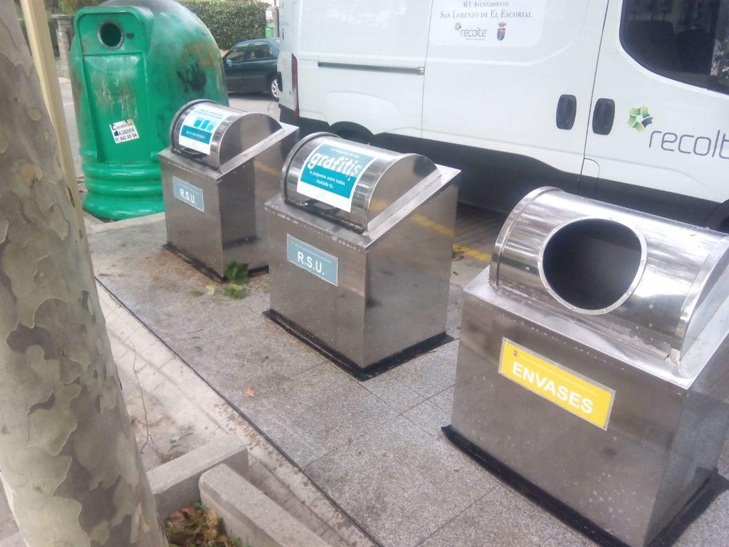 Isla de reciclado