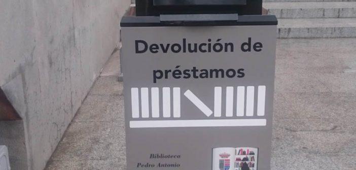 Devolucion exterior en la Biblioteca