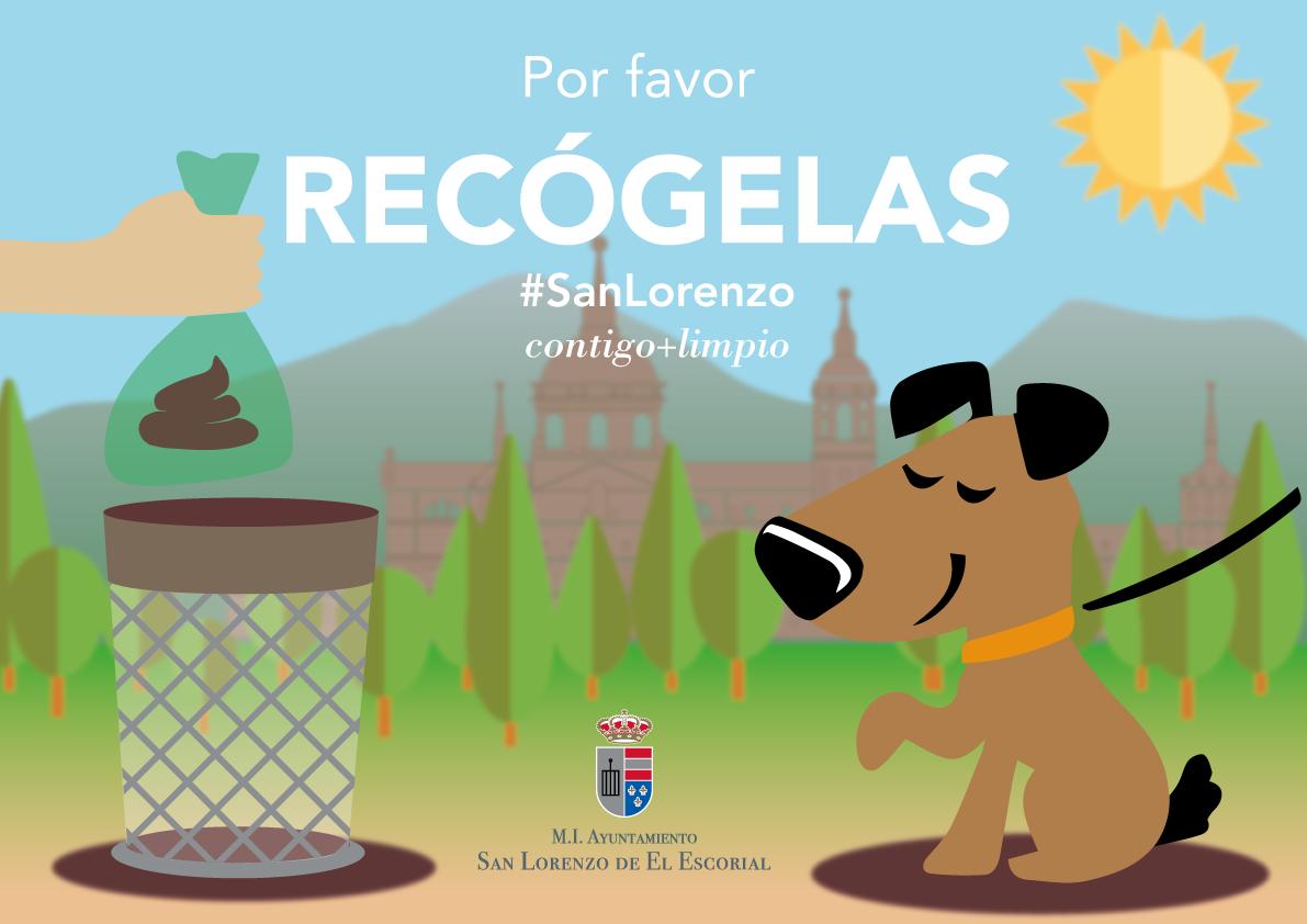 Por Favor Recógelas - Campaña de concienciación para la recogida de excrementos caninos
