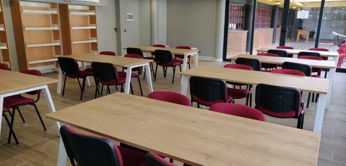Nuev sala de estudio del Polideportivo Zaburdón