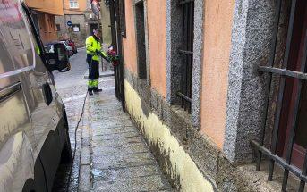 Limpieza Calle de Teniente Tejel