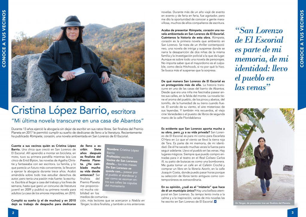 Cristina López Barrio - Febrero 2020