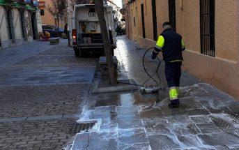 Limpieza Calle de Juan de Leyva