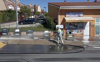 Limpieza y desinfección de urbanizaciones