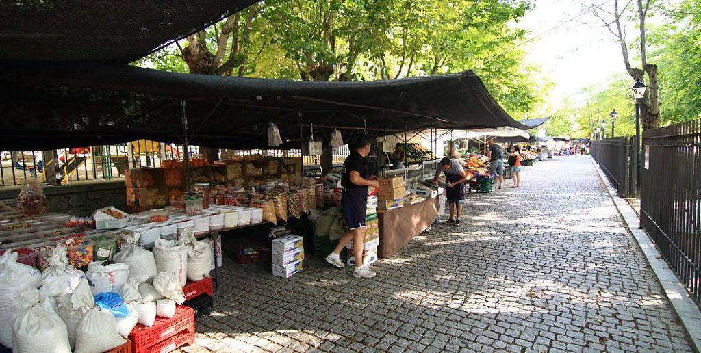 Mercadillo de los Jueves en San Lorenzo de El Escorial