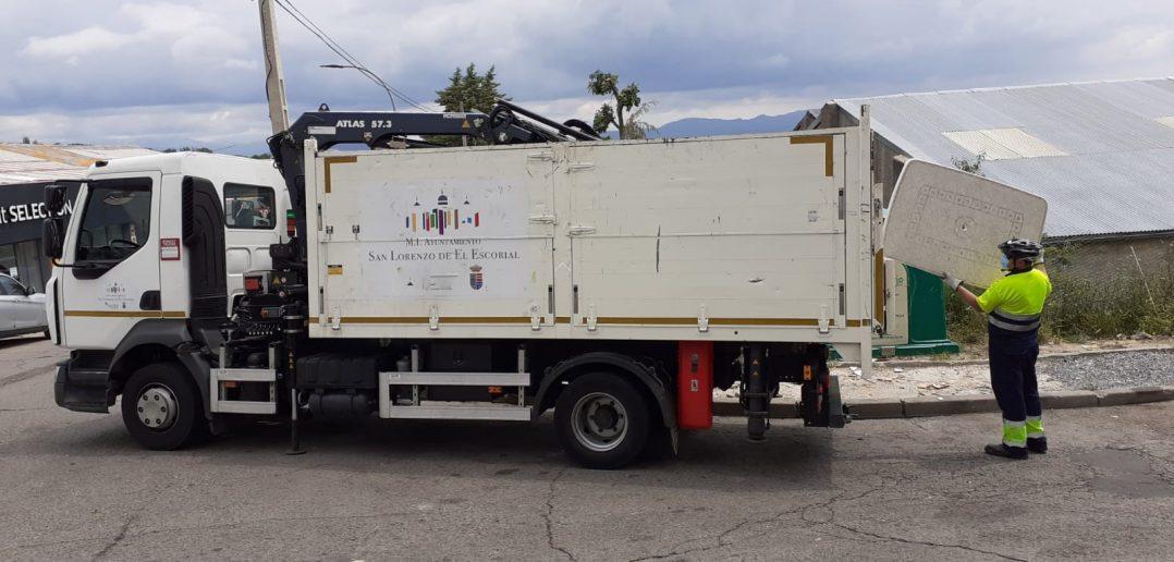 Recogida de enseres y residuos urbanos