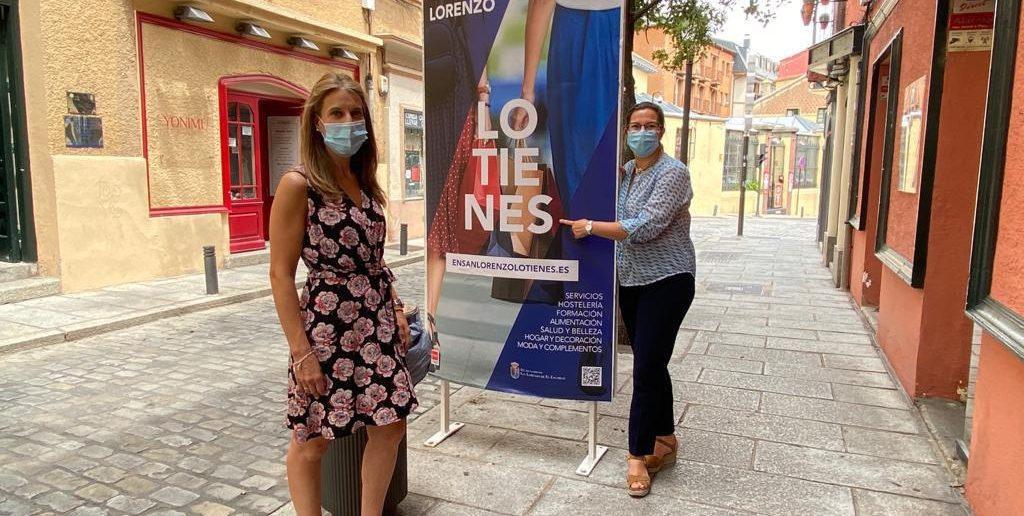 Carlota López Esteban y Myriam contreras presentan la campaña En San Lorenzo lo tienes