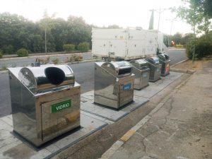 Contenedores residuos sólidos urbanos