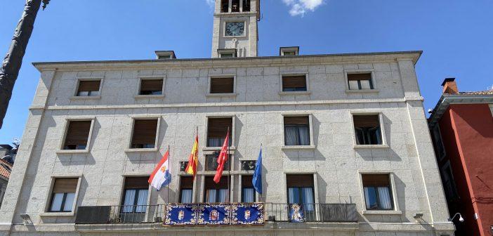 Balcón-Fachada del Ayuntamiento de San Lorenzo de El Escorial