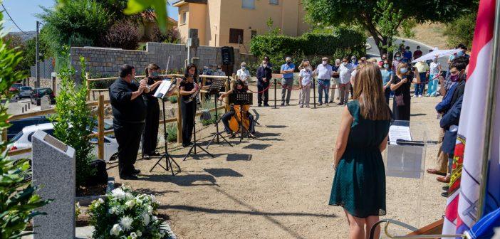 Homenaje a los afectados por el COVID