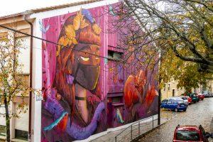 Mural de la Casa de la Juventud