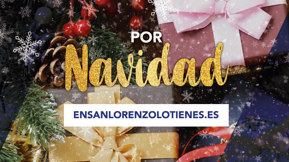 Por Navidad En San Lorenzo lo Tienes