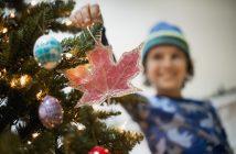 Adornos Navidad para árboles del pueblo