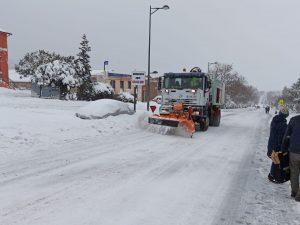 Gran nevada 2021 en San Lorenzo de El Escorial