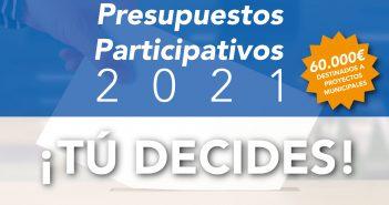 Presupuestos Participativos 2021 ¡TU DECIDES!