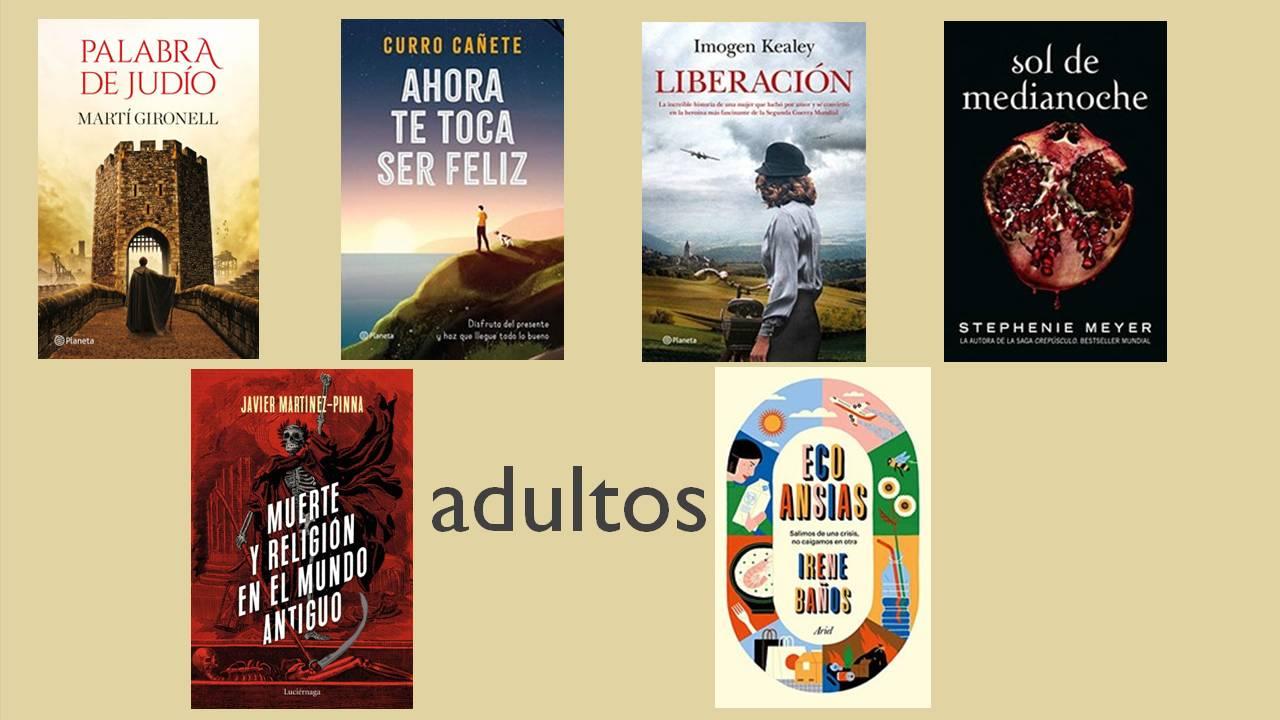 novedades libros adultos marzo 2021